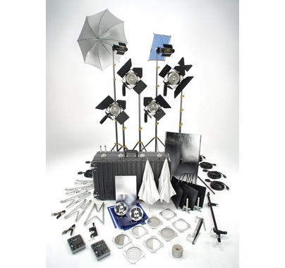 Lowel Solo Light Kit TO-96Z (6) Lights