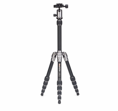 MeFoto  BackPacker Travel Tripod Kit, Titanium