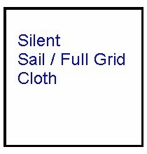 Modern Studio 12x12 Silent Sail / Full Grid Cloth w/Bag