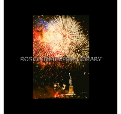 Rosco iPro Slide Fireworks / Statue of Liberty P2857
