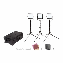 Rosco LitePad Vector LED CCT BiColor 3 Light Location Kit