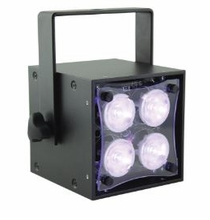 Rosco Miro Cube LED Light 4C Black Tank