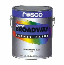 Rosco Off Broadway Scenic Paints