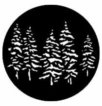 Rosco Pine Trees Steel Gobo 77551
