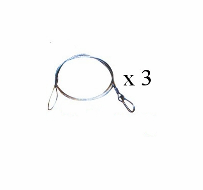 Safety Cable 3 Pack 30 inch  sc 1 st  Film and Video Lighting & Lighting Safety Cable 3 Pack Fast Rigging - BarnDoor azcodes.com