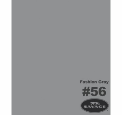 Savage 56 Fashion Gray Seamless Paper 53in x 12yd Roll  Backdrop