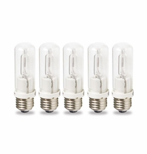 Westcott 5 pack Tungsten Halogen 150 watt lamps 4826