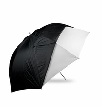 "Westcott 60"" Optical White Satin Umbrella w/ Removable Black Cover"