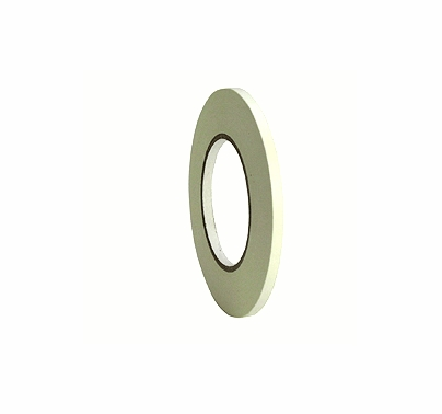 """White Paper Tape 1/4"""" x 60 yds Permacel 724"""
