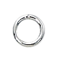 1/10 Silver-Filled Closed Jump Rings 5mm, 20ga (25)