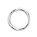 1/10 Silver-Filled Closed Jump Rings 6mm, 20ga (25)