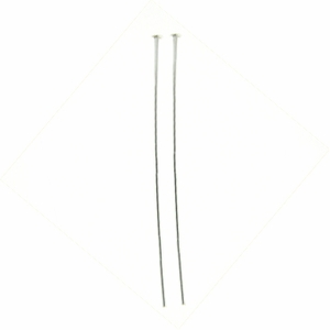 "Silver Filled Headpins 1/10 24Ga, 1.5"", 1.5 inches, 50 pieces out of stock"