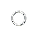 1/10 Silver-Filled Open Jump Rings 4mm, 22ga (50)