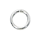 1/10 Silver-Filled Open Jump Rings 5mm, 20ga (25)