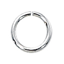 1/10 Silver-Filled Open Jump Rings 6mm, 20ga (25) discont
