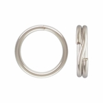 1/10 Silver-Filled Split Rings 6mm, 25 pieces, out of stock