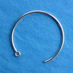 1/20 Silver-Filled Earwires 05 - 25mm  (1 pair)