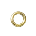 14k Gold Filled 4mm Heavy closed jump ring 19 gauge, 10 pieces