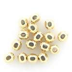 14k Gold-Filled 2.1mm Square Spacer Beads (100 pcs)