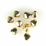 14k Gold-Filled 3mm Bicone Spacer Beads (50)