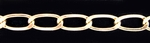 14k Gold-Filled Chain 737F - Curb 7mm