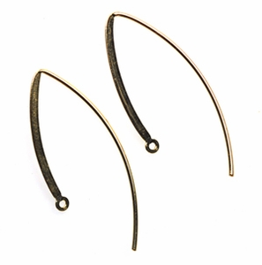 14k Gold-Filled Fancy Earwires 09 (1 pair) 37mm