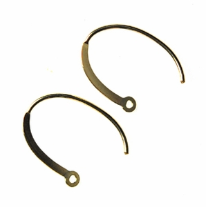 14k Gold-Filled Fancy Earwires 13 (1 pair) 19mm