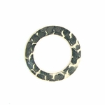 14k Gold-Filled Hammered 11.5mm Closed Ring/Link