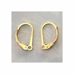 14k Gold-Filled Leverback Findings, 15mm, 4 pieces, 2 pair