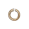 14k Gold-Filled Open Jump Rings 4mm, 50 pc