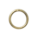 14k Gold-Filled Open Jump Rings 6mm (50)