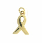 discontinued 14k Gold-Filled Ribbon Charm
