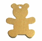 14k Gold-Filled Teddy Bear Charm