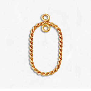 14kt Gold-Filled Earring Component 06