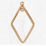 14kt Gold-Filled Earring Component 10