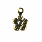14kt Gold-Filled Flower Charm