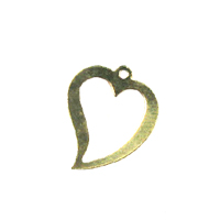 14kt Gold-Filled Heart Charm 13x15mm