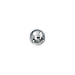 2.5mm Sterling Silver-Filled Spacer Beads .9mm Hole (100)