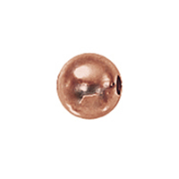 2mm Rose Gold-Filled Seamless Spacer Beads (50)