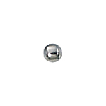 2mm Sterling  Silver Lightweight Seamless Spacer Beads .8mm hole (200 pcs)