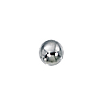 3mm Sterling Silver Seamless Spacer Beads 1.2 mm hole  (100 pcs)