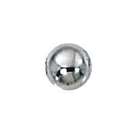 4mm Sterling Silver Seamless Spacer Beads 1.5mm hole (50 pcs)