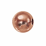 5mm Rose Gold-Filled Seamless Spacer Beads (10)
