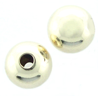 6mm 14k Gold-Filled Seamless Spacer Beads, 10 pieces
