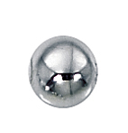 6mm Silver-Filled Spacer Beads  1.9mm Hole (20)