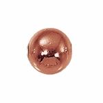 8mm Copper Seamed Spacer Beads (25)