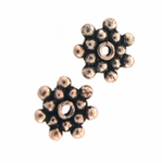AF Copper Bead 03 - 7.5mm, Antique Finish (25)