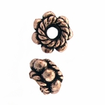 AF Copper Bead 04 - 7mm, Antique Finish (10)