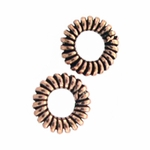 AF Copper Bead 05 - 6.5mm, Antique Finish (25)