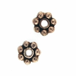 AF Copper Bead 16 - 5mm, Antique Finish (25)